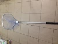 Подсак рыболовный средний алюминиевый с кордовой нити