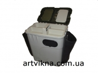 Зимний ящик для рыбалки Aquatech 1870-K с мягкими карманами